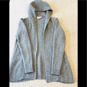 Vineyard Vines Cable Knit Hooded Cardigan XS